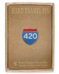 ENAMEL PIN - 420