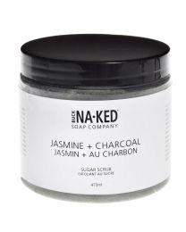 Jasmine & Charcoal Sugar Scrub
