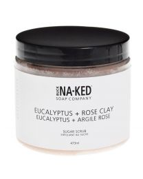 Eucalyptus & Rose Clay Sugar Scrub