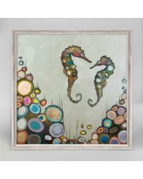 Soul Mateys by Eli Halpin - Mini Framed Canvas 10x5