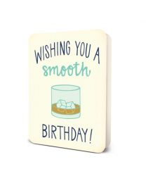 SMOOTH BIRTHDAY CARD