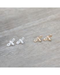 Queen Bee Studs - Gold