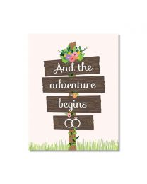 Adventure Begins Card