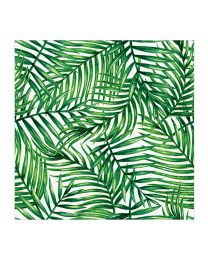 Luncheon Tropical Leaves Napkins