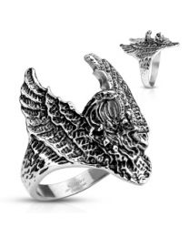 Flying Eagle Stainless Steel Rings