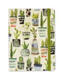 Mid-Size Journal - Watercolor Succulents