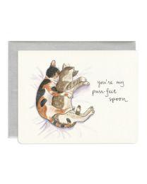 Purr-fect Spoon Card