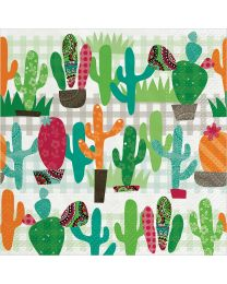 Cactus Garden Luncheon Napkins