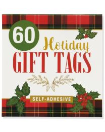 Gift Tag Stickers - Holly
