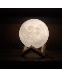 3D Printed Moon Night Light
