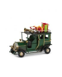 """Small Grand Vintage Car with Gifts - 4.5"""""""