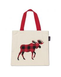 Buffalo Check MooseTote Bag - 15x16""