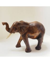 Wooden Elephant 15cm