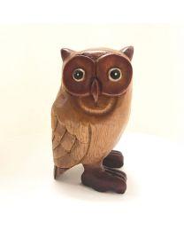 """Wooden Owl 8"""""""