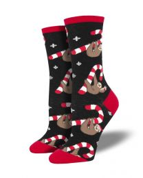 Socksmith Ladies Socks - Merry Slothmas