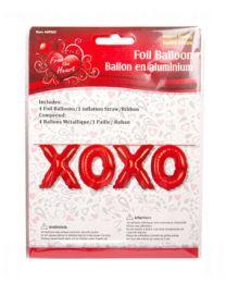 """V'tines 18"""" Foil Balloon """"XOXO"""""""