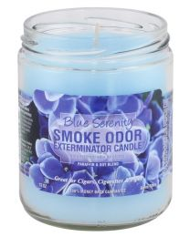 Smoke Odor 13oz. Candle - Blue Serenity