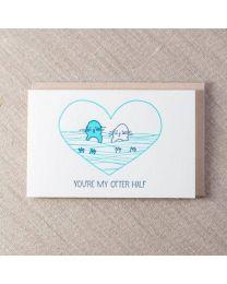 My Otter Half Card