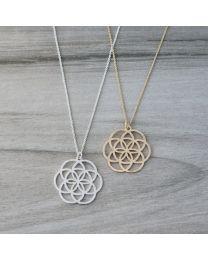 Geo Star Necklace