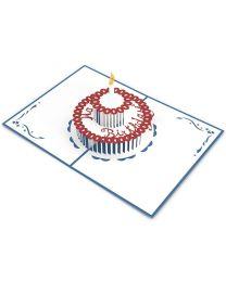 Birthday Cake 3D card