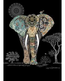 JEWELS - DECORATIVE ELEPHANT Card