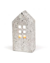 Large Tall House Candle Holder