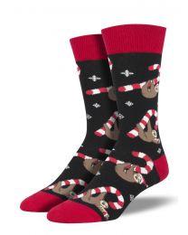 Socksmith Mens Socks - Merry Slothmas