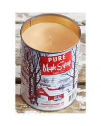 Maple Syrup Candle with Cotton Wick - Tin 450g