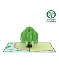 Willow Tree 3D card