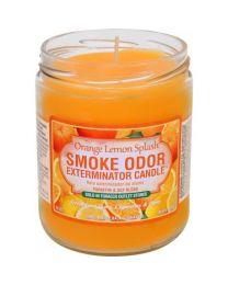 Smoke Odor 13oz. Candle - Orange Lemon Splash