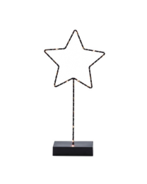 Outline LED Star On Stand