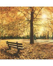 Golden Autumn - Luncheon Napkin