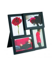 PANE PICTURE FRAME MULTI 4OP BLACK
