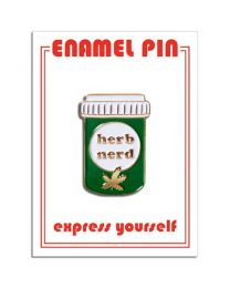 Herb Nerd Pin