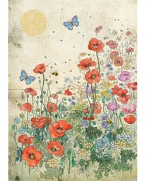 POPPY MEADOW Card