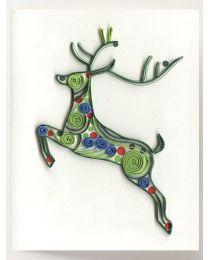Reindeer Gift Enclosure Quilling Card