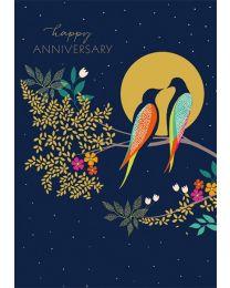 SARA MILLER - HAPPY ANNIVERSARY Card