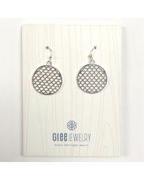Sea Fairy Earrings-silver