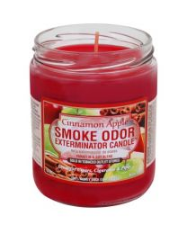 Smoke Odor Exterminator Candle - Apple Cinnamon
