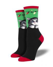 Socksmith Ladies Socks - Purrty Lights Socks