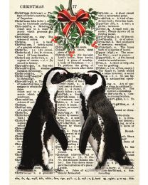 The Christmas Penguin Lovers